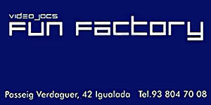 Fun Factory - Patrocinador Oficial de l'Igualada Rock City